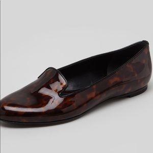 Alexander McQueen Tortious Smoking Slippers
